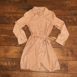 Old Navy Flannel Shirt Dress